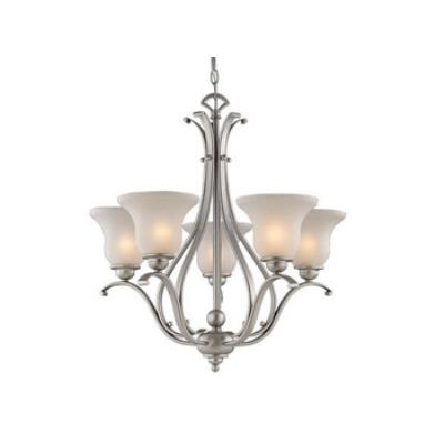 Vaxcel Lighting CH35405BN Monrovia 5 Light Chandelier