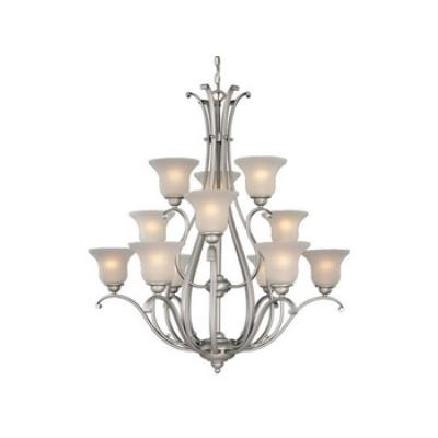 Vaxcel Lighting CH35412BN Monrovia 12 Light Chandelier