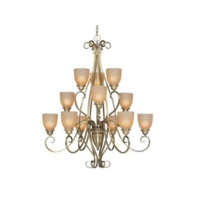 Vaxcel Lighting CH35912 Mont Blanc - Twelve Light Chandelier