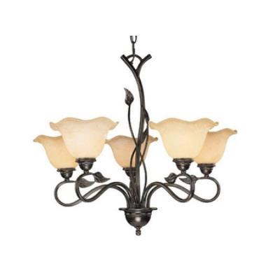 Vaxcel Lighting CH38855OL Vine - Five Light Chandelier