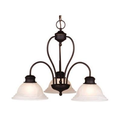 Vaxcel Lighting CH6535OBB Babylon 3L Chandelier