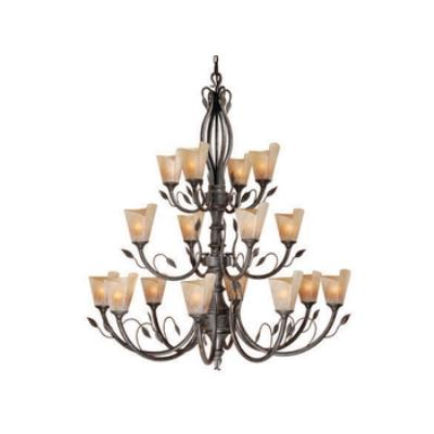 Vaxcel Lighting CP-CHU016BW Capri - Sixteen Light Chandelier