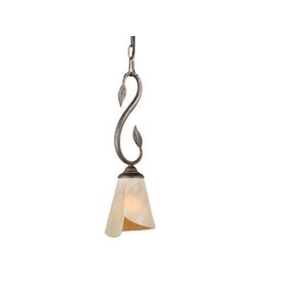 "Vaxcel Lighting CP-PDD060BW Capri - 6"" Mini-Pendant"