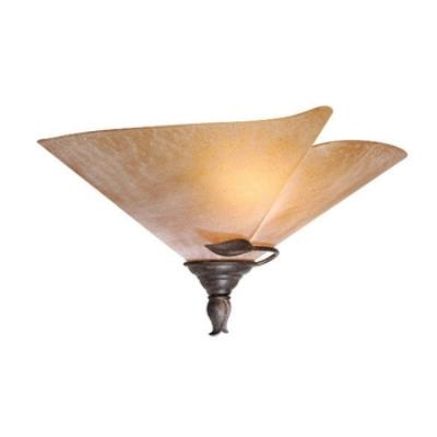 Vaxcel Lighting CP-WSU170BW Capri - One Light Wall Sconce