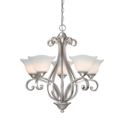 Vaxcel Lighting CS-CHU005 Caspian - Five Light Chandelier