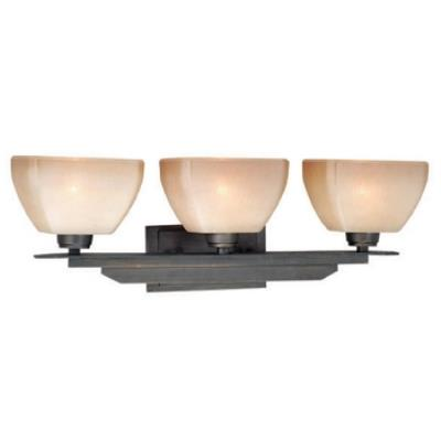 Vaxcel Lighting DC-VLU003CZ Descartes - Three Light Vanity