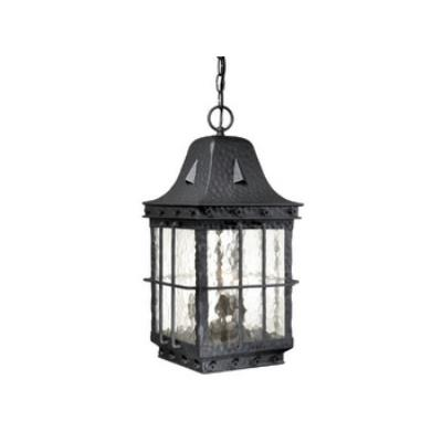 "Vaxcel Lighting ED-ODD090TB Edinburgh 9"" Outdoor Pendant"