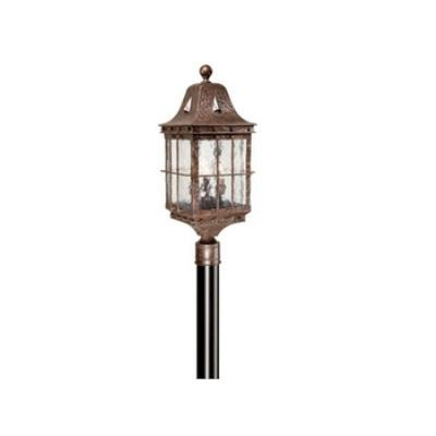 "Vaxcel Lighting ED-OPU090CI Edinburgh 9"" Outdoor Post Light"
