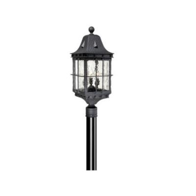 "Vaxcel Lighting ED-OPU090TB Edinburgh 9"" Outdoor Post Light"