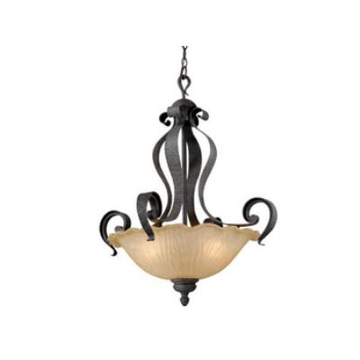 Vaxcel Lighting HB-PDU240OI Hapsburg - Three Light Pendant