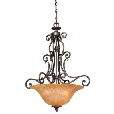 Vaxcel Lighting MD-PDU250WA Modena - Three Light Bowl Pendant