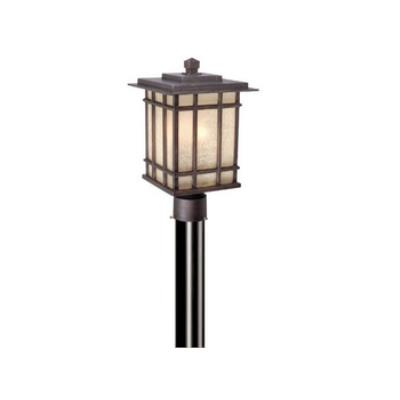 Vaxcel Lighting MH-OPU090 Manor House - Three Light Outdoor Post