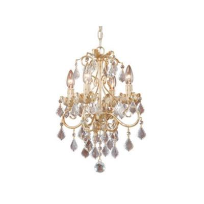 Vaxcel Lighting NC-CHU004GW Newcastle - Four Light Chandelier