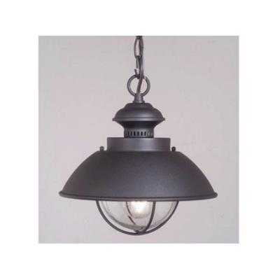 "Vaxcel Lighting OD21506TB Nautical 10"" Outdoor Pendant"