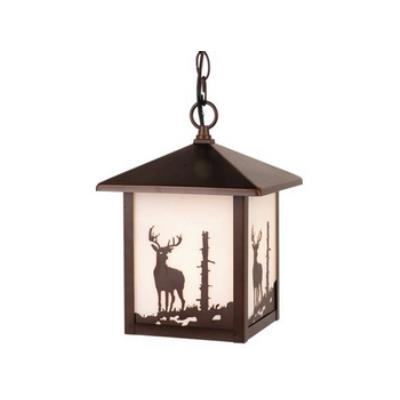 Vaxcel Lighting OD33586BBZ Yellowstone - One Light Outdoor Pendant