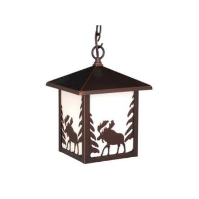 Vaxcel Lighting OD36986BBZ Yellowstone - One Light Outdoor Pendant