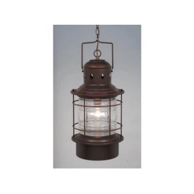 "Vaxcel Lighting OD37006BBZ Nautical 10"" Outdoor Pendant"