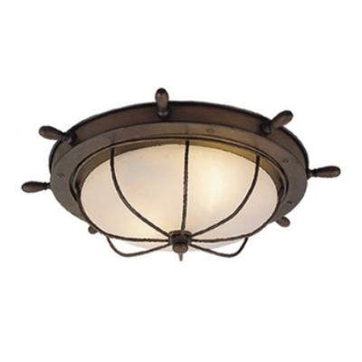 "Vaxcel Lighting OF25515RC Nautical - 15"" Indoor/Outdoor Ceiling Mount"