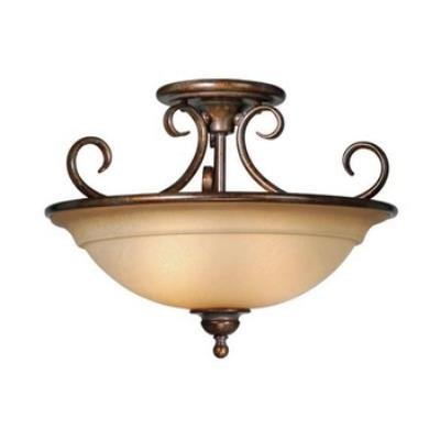 "Vaxcel Lighting OM-CFU160 Nice - 16.5"" Semi-Flush Ceiling Mount"
