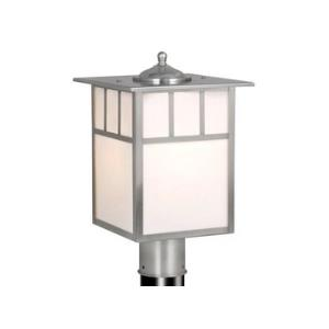 "Mission - 9"" Outdoor Post Lantern"