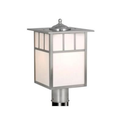 "Vaxcel Lighting OP14695ST Mission - 9"" Outdoor Post Lantern"