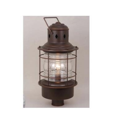 "Vaxcel Lighting OP37005BBZ Nautical 10"" Outdoor Post Light"