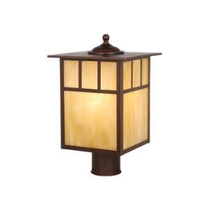 Mission - One Light Outdoor Post Lantern