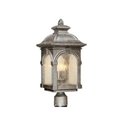 """Vaxcel Lighting OP38795 Essex - 9"""" Outdoor Post Lantern"""