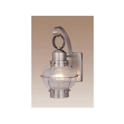 "Vaxcel Lighting OW21861BN Nautical 7"" Outdoor Wall Light"