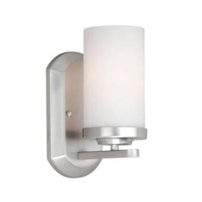 Vaxcel Lighting OX-VLU001BN Oxford - One Light Bath Bar