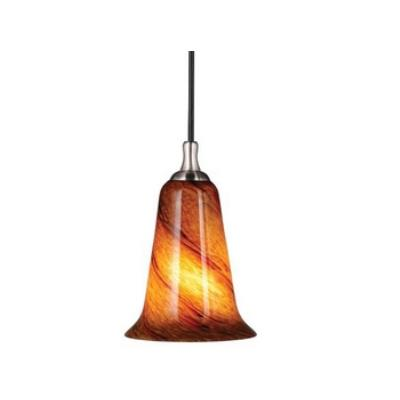 Vaxcel Lighting PD30103SN Milano - One Light Mini-Pendant