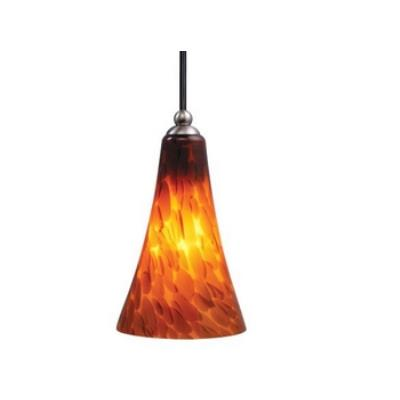 Vaxcel Lighting PD30128SN Milano - One Light Mini-Pendant