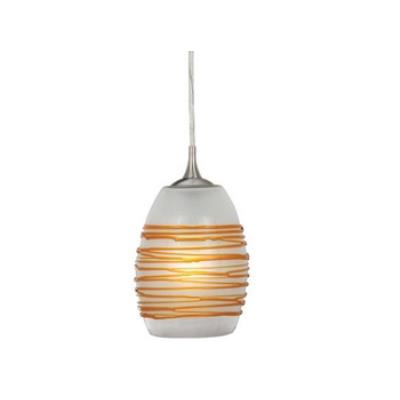 Vaxcel Lighting PD30151SN Milano - One Light Mini-Pendant