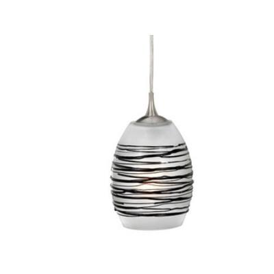 Vaxcel Lighting PD30153SN Milano - One Light Mini-Pendant
