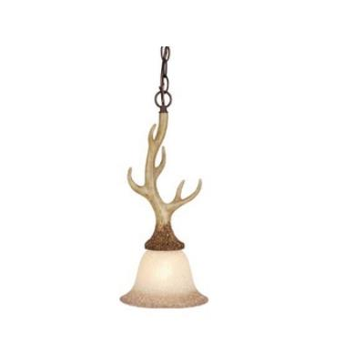 Vaxcel Lighting PD33057NS Lodge - One Light Mini-Pendant
