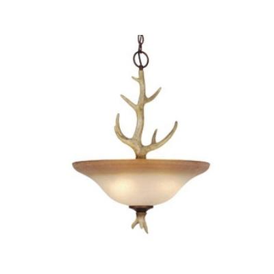 Vaxcel Lighting PD33088NS Lodge - Four Light Pendant