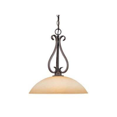 "Vaxcel Lighting PD35918AZ/B Mont Blanc 18"" Pendant"