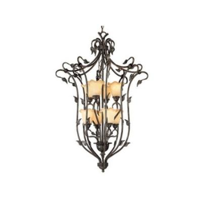 Vaxcel Lighting PD38808OL Vine - Eight Light Foyer Pendant