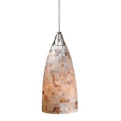 Vaxcel Lighting PD53202SN Milano - One Light Mini-Pendant