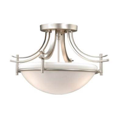 Vaxcel Lighting SE-CFU180BN Sebring Semi Flush Ceiling Light