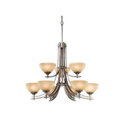 Vaxcel Lighting SE-CHU009AE Sebring 9L Chandelier