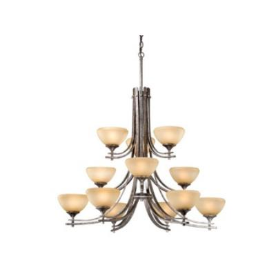 Vaxcel Lighting SE-CHU012 Sebring - Twelve Light Chandelier