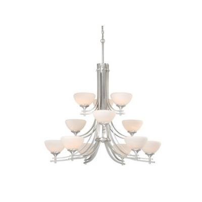 Vaxcel Lighting SE-CHU012BN Sebring 12L Chandelier