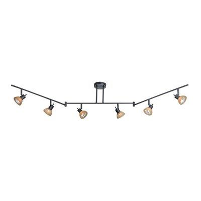 Vaxcel Lighting SP53566 Six Light Swing Track Bar