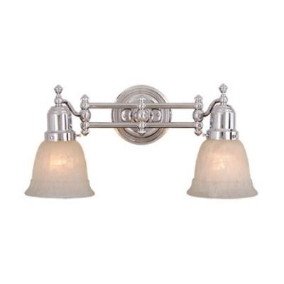 Vaxcel Lighting VL28962CH Two Light Swing Arm Wall Sconce