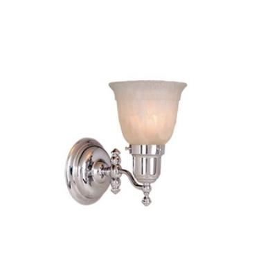 Vaxcel Lighting WL28961CH One Light Swing Arm Wall Sconce