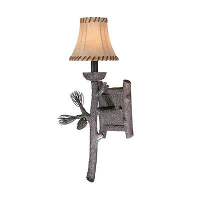 Vaxcel Lighting WL65231CP Yellowstone - One Wall Mount