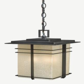 Vaxcel Lighting AB-ODU090NB Ashbee - Three Light Outdoor Pendant