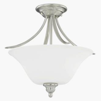 Vaxcel Lighting C0054 Darby - Two Light Semi-Flush Mount