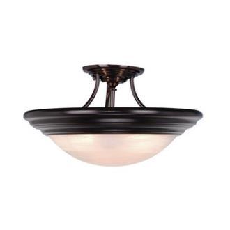 "Vaxcel Lighting CC32717OBB Tertial 17"" Semi-Flush"